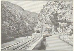 G0491 France - Ligne Du Sud-France - Tunnel Prés De La Tinée- 1923 Old Print - Stampe & Incisioni