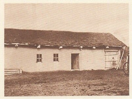 G0563 Siberia - Hutte D'émigrant Dans La Steppe Kirghize - 1926 Old Print - Stampe & Incisioni