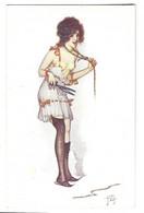 """ILLUSTRATEUR  J.Tam """" Les Fetiches Parisiens """" Femme , Charme - Andere Illustrators"""