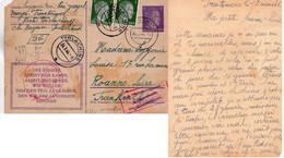 "CP-  "" STO -FREUTMOOS  ""  Cachet- - 2. Weltkrieg 1939-1945"