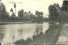 Cpa  ABBEVILLE : Le Patis  ( Péniche ) - Abbeville