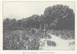 G0767 Madagascar - Sur Le Route De Majunga - Stampa D'epoca - 1923 Old Print - Stampe & Incisioni
