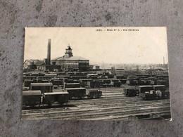 CP Ancienne Lens Mine Numéro 5 Vue Générale Charbonnage Gare De Triage Wagons Charbon - Lens
