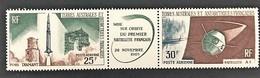 TAAF Yvert N° 11 A , Poste Aérienne, Triptyque De Luxe Sans Aucune Trace De Charnière - Luftpost
