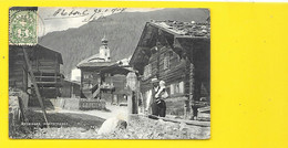 RECKINGEN Rare Dorfstrasse (Synnberg) Suisse (VS) - VS Valais