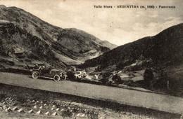 ARGENTERA, Cuneo - Auto - Panorama - VG - A115 - Cuneo
