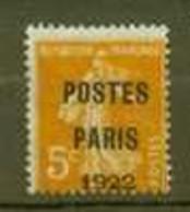 FRANCE 1920 22  YT 30 COTE 20 - 1893-1947