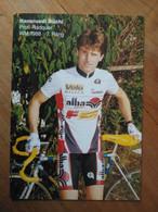 Cyclisme - Carte Publicitaire GERBER ALBA VELO MAGAZIN 1990 : Hansruedi BÜCHI - Radsport