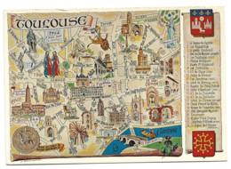 Toulouse 31 - Edition Loubatieres L 94 Itineraire Touristique Du Vieux Toulouse - Toulouse