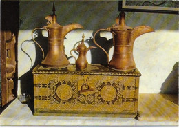 Abudhabi - The Beautiful Handcraft Of The Bédouin Coffee Pots Ans The Bridal Box - United Arab Emirates