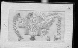 CARTE BRODEE DE LORRAINE - Embroidered