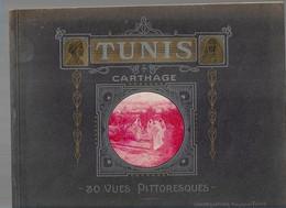 28 03/1//   TUNIS    CARTHAGE   30 VUE PITTORESQUES - Storia