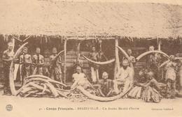 CONGO BRAZAVILLE - EX CONGO FRANCAIS - BRAZZAVILLE - ANCIEN MARCHE DE L'IVOIRE - ELEPHANT - Frans-Kongo - Varia