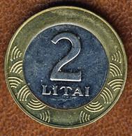 Lithuania 2 Litai 2010, KM#112, AUnc Bi-Metallic - Lithuania