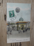 MARSEILLE : Exposition Coloniale, Le Ballon Captif ............. 201101c-3374 - Expositions Coloniales 1906 - 1922