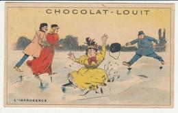 CHROMO   Chocolat LOUIT  L'IMPRUDENCE - Louit