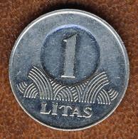 Lithuania 1 Litas 2008, KM#111, VF - Lithuania