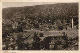 AXUM - PERIODO COLONIALE ITALIANO - FORMATO PICCOLO - VIAGGIATA 1935 - (rif. S82) - Ethiopië