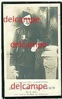 Oorlog - Gesneuveld- Alfons Craenen - Betekom - Fort Van Waelhem 1914 - Andachtsbilder