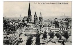 Gent Vue Sur La Place Du Vendredi Et L' Eglise St Jacques - Gent
