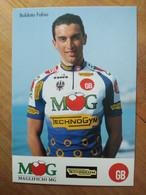 Cyclisme - Carte Publicitaire MG TECHNOGYM GB 1994 : BALDATO - Ciclismo