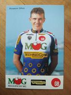 Cyclisme - Carte Publicitaire MG TECHNOGYM GB 1994 : MUSEEUW - Ciclismo