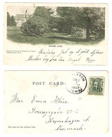 USA - IOWA - INDEPENDENCE - Lover's Lane , Scene On Grounds Of Hospital For Insane - From USA To Denmark 1907 - - Altri