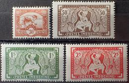 R2452/644 - 1943 - COLONIES FR. - INDOCHINE - SERIE COMPLETE - N°232 à 235 NEUFS* - Unused Stamps