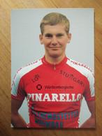 Cyclisme - Carte Publicitaire WÜRTTEMBERGISCHE VERSICHERUNG 1994 : Andreas WALZER En PINARELLO - Cycling