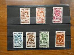 SARRE  Série Complète  Neufs Sans Charnière N° 141-147    Luxe Cote 500 € - Unused Stamps