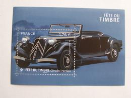 France  2019  Bloc Neuf  Fete Du Timbre : Citroen Traction - Mint/Hinged