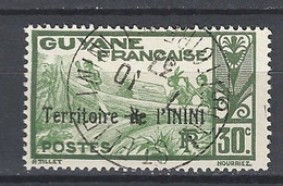 ININI : N° 09  Oblitéré (belle Oblitération Ronde Saint Elie) - Used Stamps