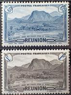 R2452/651 - 1944 - COLONIES FR. - REUNION - SERIE COMPLETE - N°247 à 248 NEUFS* - Nuevos