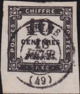 France    .   Y&T    .   Taxe  2  Superbe!     .    O    .     Oblitéré    .     /   .   Cancelled - 1859-1955 Oblitérés