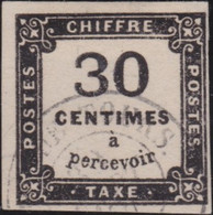 France    .   Y&T    .   Taxe  6  (2 Scans)       .    O    .     Oblitéré    .     /   .   Cancelled - 1859-1955 Oblitérés