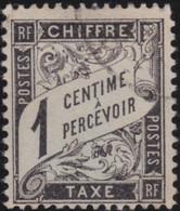 France    .   Y&T    .   Taxe  10     .    O    .     Oblitéré    .     /   .   Cancelled - 1859-1955 Oblitérés