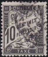France    .   Y&T    .   Taxe  15    .    O      .     Oblitéré    .     /   .   Cancelled - 1859-1955 Oblitérés