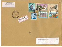 Erquelinnes 1999 >> St-Niklaas /  Recommandé - Storia Postale