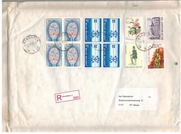 Antwerpen 1999 >> St-Niklaas /  Recommandé / Enveloppe Matelassée Gewatteerde Omslag - Storia Postale