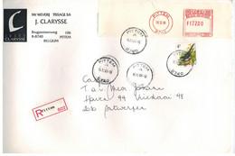 Pittem 1998 >> Antwerpen /  Recommandé - Storia Postale