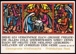 E9215 - TOP Paula Jordan Heinz Kirsch Glückwunschkarte - Weihnachtskrippe Krippe - Max Müller Karl Marx Stadt DDR - Non Classés