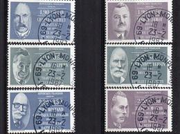 1986  YV  N° 2454/2459  - Oblitéré  Cancelled  Gestempelt  Gestempeld - Used Stamps