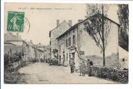 SOUSCEYRAC - Avenue De La Gare - Sousceyrac
