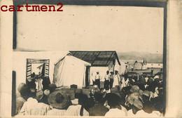 CARTE PHOTO : SALONIQUE CAMP MILITAIRE THEATRE GUIGNOL GUERRE D'ORIENT BALKANS DARDANELLES GRECE GREECE TURKEY MILITARIA - Weltkrieg 1914-18