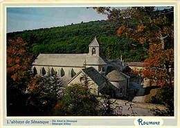 84 - Gordes - Abbaye De Sénanque - En Automne - CPM - Voir Scans Recto-Verso - Gordes