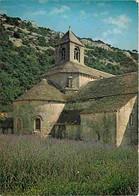 84 - Gordes - Abbaye De Sénanque - Le Chevet De L'église Abbatiale - Champs De Lavande - CPM - Voir Scans Recto-Verso - Gordes