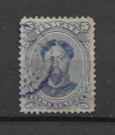 1866 USED Hawaii Mi 17 - Hawaii
