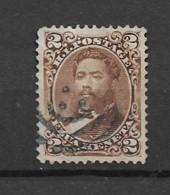 1871 USED Hawaii Mi 20 - Hawaii