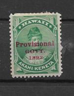 1893 MH Hawaii Mi 39 - Hawaii