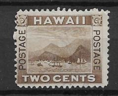 1894 MNG Hawaii Mi 58 - Hawaii
